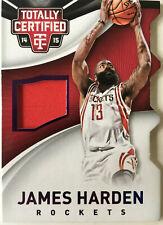 NBA Basketball - JAMES HARDEN - Panini Totally Certified - Jersey Card No.18/99