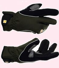 QGLV083  Eigo Lobster Windproof Winter Bicycle cycle MTB  Gloves Black