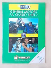 COVENTRY CITY v EVERTON - CHARITY SHIELD 1987 - VGC PROGRAMME