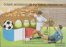 Cambodia block225 (complete issue) unmounted mint / never hinged 1997 Football-W