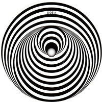 Vertigo swirl  record label Vinyl Sticker. Black Sabbath, Status Quo, Metallica