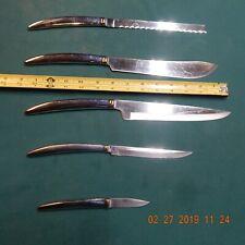 Saladmaster knife set Mid century