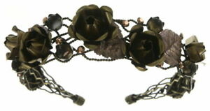 KONPLOTT / Kopfband A Rose is a Rose is a Rose rosa / braun 5450543465470