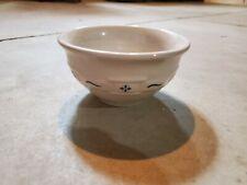 longaberger Blue Heritage Dessert Bowl