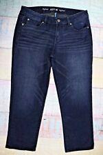 Apt.9 Modern Boyfriend Size 10 Jeans Women  Dark Blue    D-87