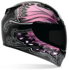 BELL Womens Vortex Monarch Full Face Street Sportbike Motorcycle Helmet XL Pink