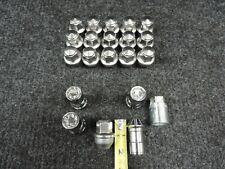 🔩 2005-2020 CHRYSLER 300 300C OEM ALLOY WHEEL STAINLESS LUG NUTS 14X1.5mm LOCKS