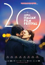 LAVAZZA ITALIAN FILM FESTIVAL 2019 poster - glossy A4 print
