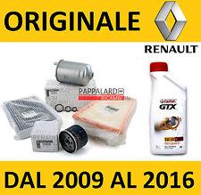 KIT TAGLIANDO FILTRI ORIGINALI + OLIO CASTROL GTX RENAULT MEGANE 3 III 1.5 DCI