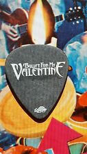 BULLET FOR MY VALENTINE Padge Paget 2010 tour guitar pick (black)  NEW LISTING!