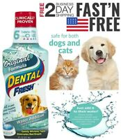 Dental Fresh Original Formula Water Additive for Dogs & Cats | Clinically Proven