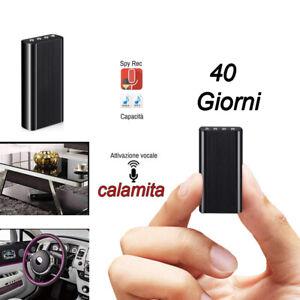 MICRO REGISTRATORE SPIA  AUDIO VOCALE 8GB SPY AMBIENTALE USB MICROSPIA