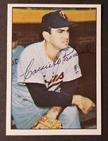 Camilo Pascual Signed 1978 TCMA (The 1960's) #32 Card _1965 Twins _Senators AUTO