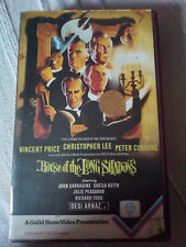 House of the Long Shadows - BIG BOX GUILD HOME VIDEO PRE CERT HORROR