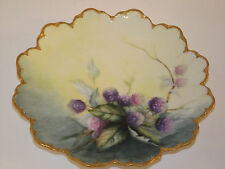 Antique 1898-1906 ROSENTHAL R.C.MALMAISON Berry Porcelain Plate- Bavaria Germany