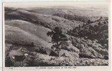 The Horner Valley, Haunt of The Red Deer RP Postcard, B425