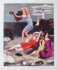 Pablo Picasso THE BATHERS Estate Signed & Stamped Limited Edition Large Giclee