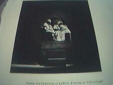 picture 1932 theatre caesar cleopatra le petit vieux carre ethel crumb brett