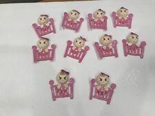 10 Figuras De Fomi baby shower. Nino o nińa