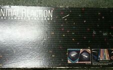Initial Reaction board game 1985 Playline famous names question  trivia toys kid