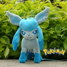 "Pokemon Plush Toy Glaceon 8"" Nintendo Game Collectible Stuffed Animal Doll"