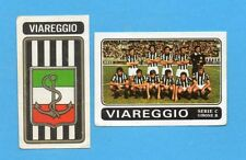 FIGURINA PANINI 1972/73-n.523- VIAREGGIO - SQUADRA+STEMMA/SCUDETTO -Rec