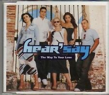 (CF722) Hear' Say, The Way To Your Love - 2001 DJ CD