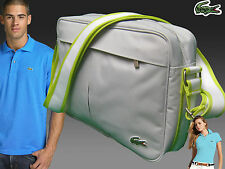 New Authentic LACOSTE Camera Shoulder Bag Casual 2.22 Light Beige