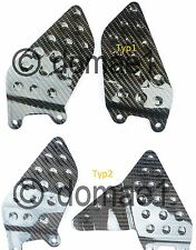 carbon fiber heel guards plates Honda CBR900RR fireblade 929 SC44 954 SC50 00-03