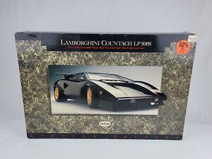 Testors 1/12 Scale Lamborghini Countach LP500S Doyusha Model Kit 1988 New in box