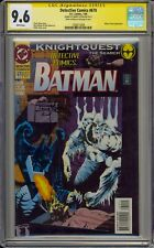DETECTIVE COMICS #670 - CGC 9.6 - SIGNED BY BARRY KITSCH - BATMAN - 1508213008