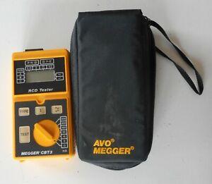 AVO MEGGER CBT3 RCD Tester Original Case Very Good Condition