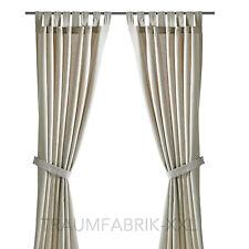 IKEA Lenda 2 rideaux avec ajustable rideaux rideaux FOULARDS 140x300 cm beige
