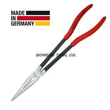 """Knipex 11"""" Extra Long Nose Pliers Straight Nose 2871280 XL Length"""