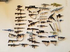 LOT GI JOE action figure guns and weapons toys 60 pieces