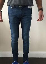 Topman Big & Tall Mid Rise Skinny, Slim Jeans for Men