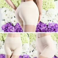 Silky Feel Comfortable Lingerie Safety Short Pants High Waist Underwear