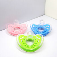 Dynamic Orthodontic Pacifier Dummy Translucent Silicone Baby Soother Nipples