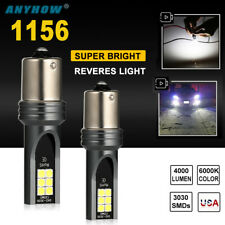 2x 1156 LED Headlight White Fog Light Bulbs Front Back Up Reverse Lights Upgrade