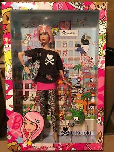 NRFB TOKIDOKI Gold Label 2011 Barbie Collector Doll RARE Original Doll