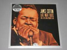 JAMES COTTON Late Night Blues Live LP Record Store Day 2019 New Sealed Vinyl RSD