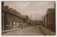 Somerset postcard - Commercial Road, Highbridge - RP - P/U 1914