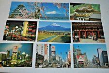 17 Vintage Unused Postcards Lot - Japan, Tourist