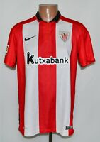 ATHLETIC BILBAO SPAIN 2015/2016 HOME FOOTBALL SHIRT JERSEY NIKE SIZE M ADULT