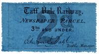 (I.B) Taff Vale Railway : Newspaper Parcel 2d