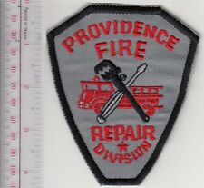 Providence City Fire Department Equipment Repair Division Rhode Island Grey