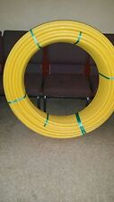 "JM EAGLE D2513 GAS PIPE TUBING 1""  UAC 2000 YELLOW 100 FT"