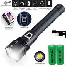 Taschenlampe XHP160 LED taktisches Arbeitslicht wiederaufladbare USB Ladegerät