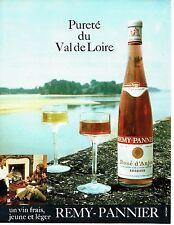 PUBLICITE ADVERTISING 0117  1971  le vin rosé d'Ajou Remy- Pannier reserve