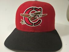 Rare RED*ONLY LISTING ONLINE!* CAPITAL CITY BOMBERS Hat 90s New Era Snapback Cap